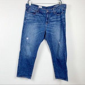 Gap 1969 sexy boyfriend womens jeans size 18R
